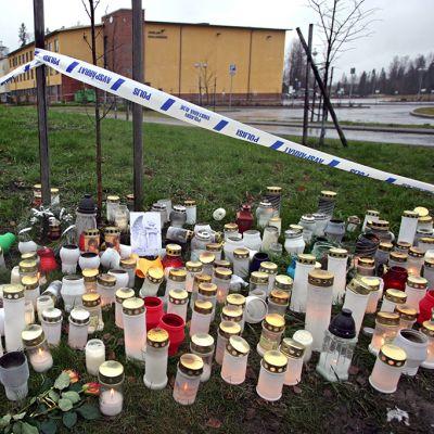 Jokelan koulutuskeskuksen ammuskelussa kuoli kuusi oppilasta vuonna 2007.