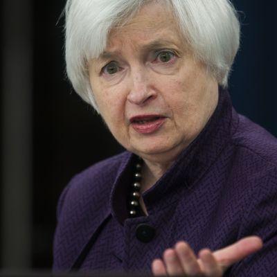 Yhdysvaltain keskuspankin pääjohtaja Janet Yellen