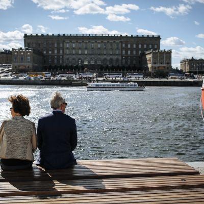 Ruotsissa todellinen eläkkeelle siirtymisikä on kansainvälisesti verrattuna korkealla tasolla.