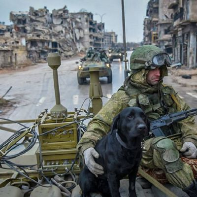 sotilas aleppossa
