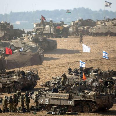 Israel förbereder amrkoffensiv mot Gaza
