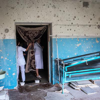Det råder brist på mediciner i Ukraina