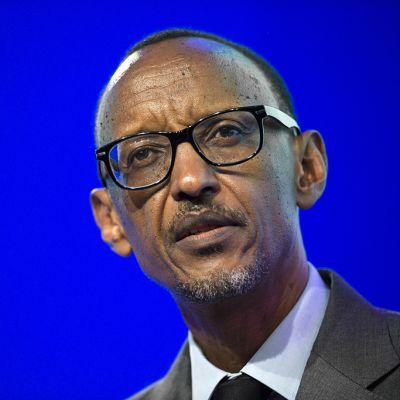 Ruandan Presidentti Paul Kagame.