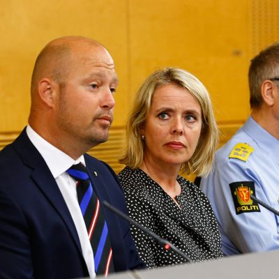Anders Anundsen, Benedicte Bjørland ja Vidar Refvik.