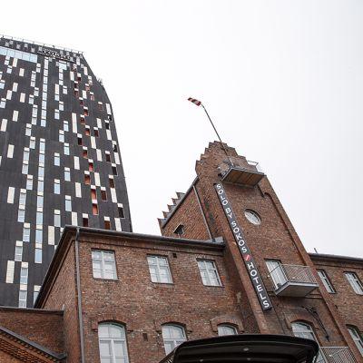 Solo Sokos Hotel Torni Tampere eli Torni-hotelli Tampereella 3. maaliskuuta 2015.