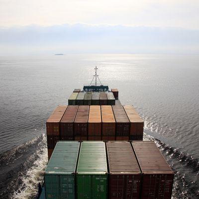 Rahtilaiva Itämerellä