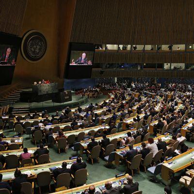 YK:n turvaneuvoston kokous New Yorkissa
