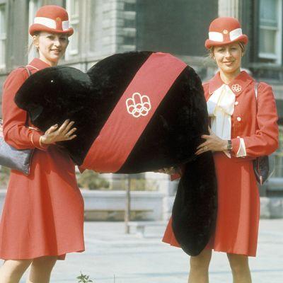 Kanadan olympialaisten maskotti vuonna 1976 oli nimeltään Amik.