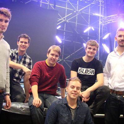 Wolt team Mika Matikainen, Lauri Andler, Oskari Pétas, Juhani Mykkänen, Miki Kuusi ja Elias Pietilä.