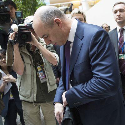 Venäjän valtionvarainministeri Anton Siluanov Washingtonissa, Yhdysvalloissa, huhtikuussa 2014.