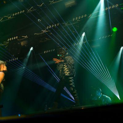 Röyksopp & Robyn Do It Again 2014 koostui molempien artistien erillisistä esityksistä ja lopuksi riehakkaasta yhteiskeikasta.