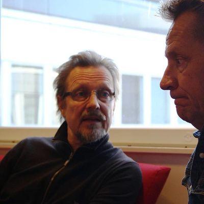 Pave Maijanen ja Olli Lindholm.