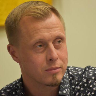 Porin talousyksikön päällikkö Tuomas Hatanpää.