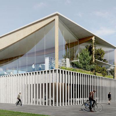 ALA-arkkitehdit suunnitteli Lyonin Lumière-yliopistolle uuden oppimiskeskuksen. Siinä on myös kirjasto.  Rakennustöiden on määrä alkaa vielä tänä vuonna.