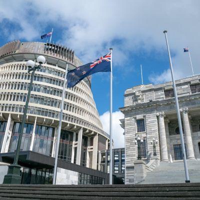 Uuden-Seelannin parlamenttitalo.