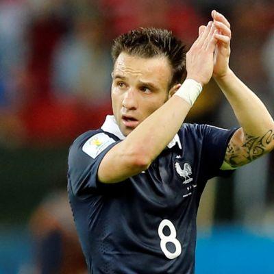 Ranskan Mathieu Valbuena.
