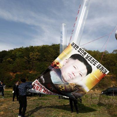 Pohjoiskorealaiset loikkarit valmistelivat hallintoa vastustavaa protestia