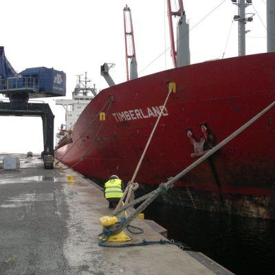 Oulun sataman uusi laituri
