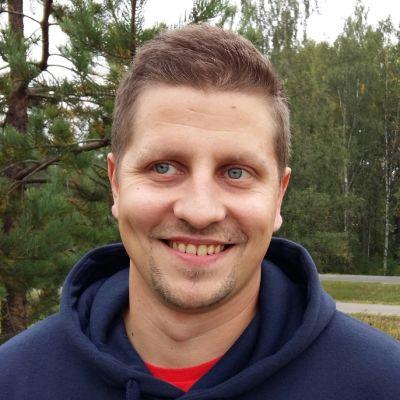 Janne Pasenius ulkona
