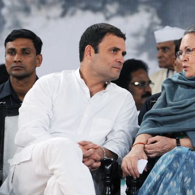 Rahul ja Sonia Gandhi