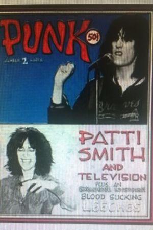 """pärm av tidnin gen """"Punk"""" med Patti Smith"""