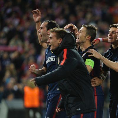 Atletico Madrid pudotti jo Barcelonan. Miten käy Bayernin?