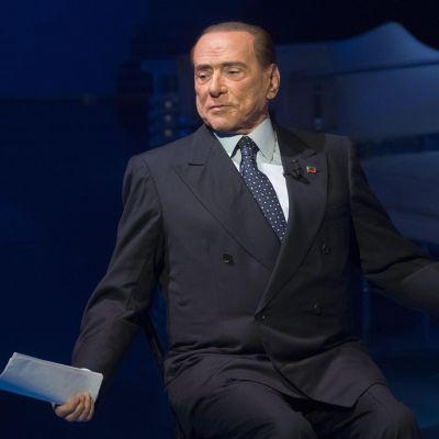 Berlusconi marraskuussa 2017.