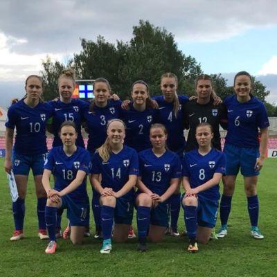 Näillä maaleilla U17-tytöt nousivat sensaatiomaisesti jalkapallon MM-kisoihin!