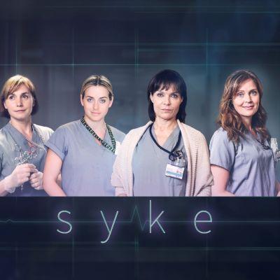 Traumaosastolla työskentelevät neljä naista, jotka ovat pääsosassa Sykkeessä.