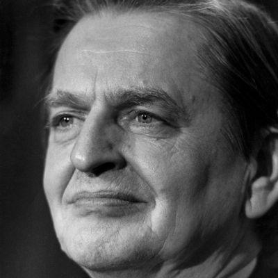 Olof Palme kuvattuna 80-luvulla.