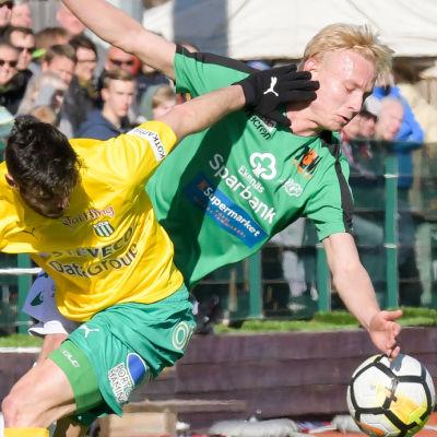 EIF spelar premiär mot FC KTP.