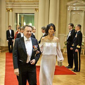 Ilkka Kanerva och Elina Kiikko
