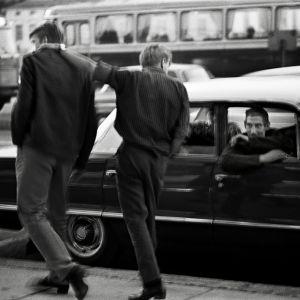 Raggare i Vasa i augusti 1962.