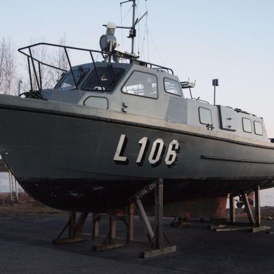 Fortbåten Gyltö (före detta L106)