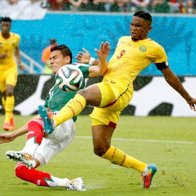 Kamerunin Samuel Eto'o.