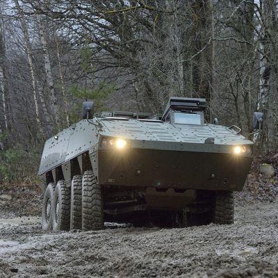 AMV-personvagn, bepansrat fordon
