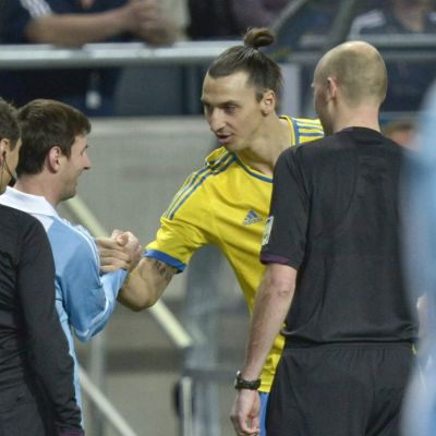 Zlatan ja Messi.