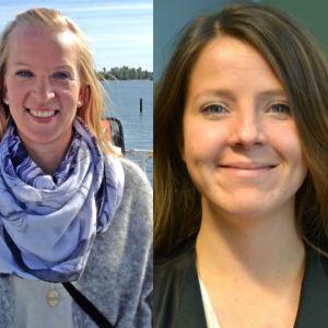 Sandra Bergqvist, Ida Schauman och Niklas Guseff.