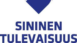 Blå framtids logo.