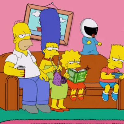 Kuva Simpsonit-sarjasta.