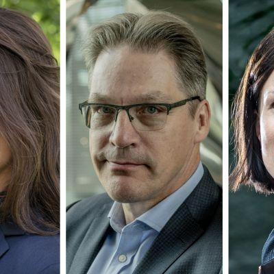 Elina Pylkkänen, johtaja, Palkansaajien tutkimuslaitos, Risto Murto, toimitusjohtaja, Varma, Sanna Kurronen, ekonomisti, EVA