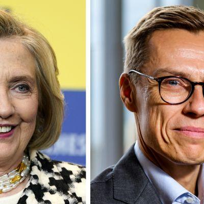Alexander Stubb haastatteli Yhdysvaltain entistä ulkoministeriä Hillary Clintonia maailmanpolitiikan kysymyksistä.