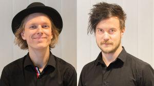 LOVEbandin Joonas Kasurinen (vas.) ja Lasse Piirainen.