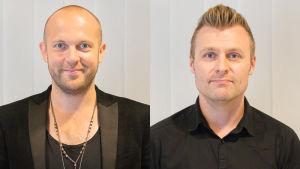 LOVEbandin Mikko Kosonen (vas.) ja Ville Nurmi