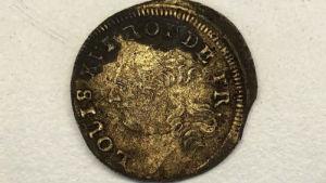 franskt mynt från 1700-talet