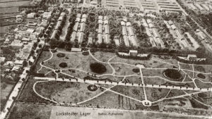 Gammalt vykort över Lockstedter Lager