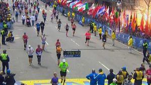 Explosion vid Boston maraton i USA.