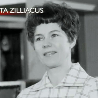Jutta Zilliacus intervjuas