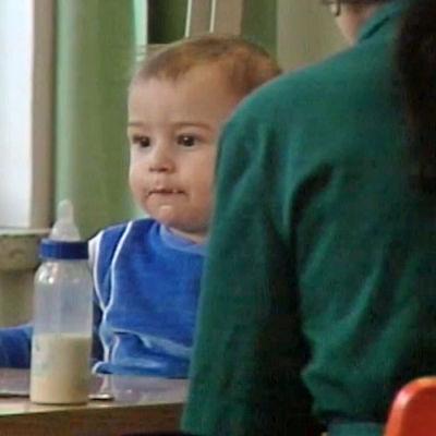 Ett litet barn på Tavastehus länsfängelse