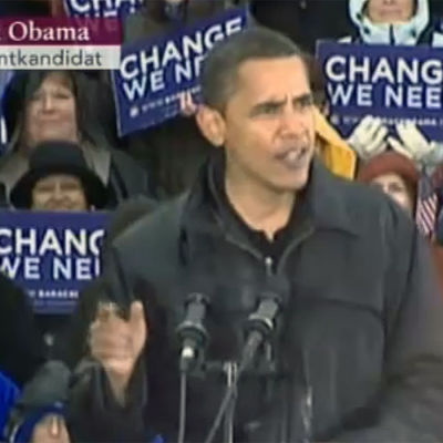 Bild på USA:s president Barack Obama